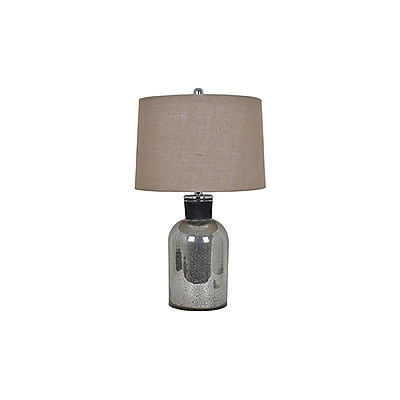 Aurora Lighting 1-Light Incandescent Table Lamp - Mercury (STL-CST081275)