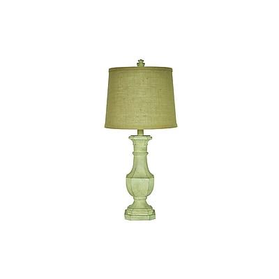 Aurora Lighting 1-Light Incandescent Table Lamp - White Wash (STL-CST064995)