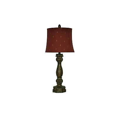 Aurora Lighting 1-Light Incandescent Table Lamp - Regent Bronze (STL-CST065169)