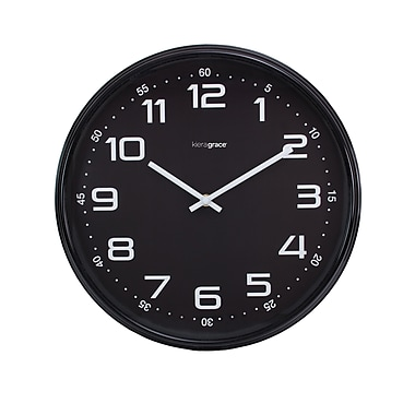 Kiera Grace Max Wall Clock, 14