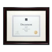 "Kiera Grace Lucy Document Frame, 11"" x 14"", Matted to 8.5"" x 11"", Dark Brown, Gold Beading, 8/Pack (PH43820-1MC)"