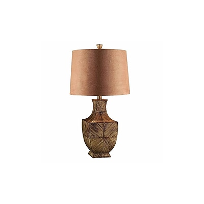 Aurora Lighting 1-Light Incandescent Table Lamp - Brown (STL-CST085624)
