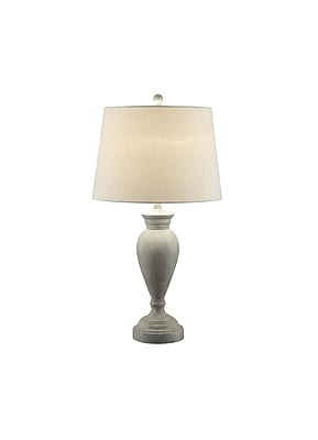Aurora Lighting 1-Light Incandescent Table Lamp - Grey Stone (STL-CST070347)