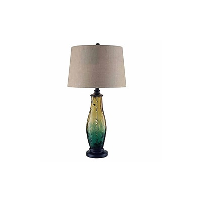 Aurora Lighting 1-Light Incandescent Table Lamp - Antique Bronze (STL-CST085761)