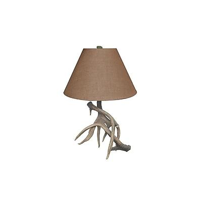 Aurora Lighting 1-Light Incandescent Table Lamp - Natural Antler (STL-CST003949)