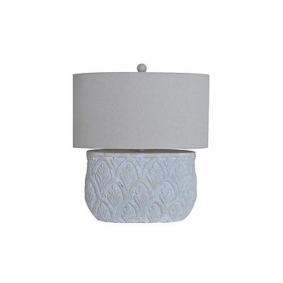 Aurora Lighting 1-Light Incandescent Table Lamp - Grey Stone (STL-CST075243)
