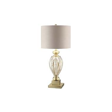 Aurora Lighting 1-Light Incandescent Table Lamp - Soft Brass (STL-CST070453)