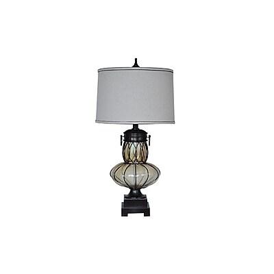Aurora Lighting 1-Light Incandescent Table Lamp - Bronze (STL-CST070200)