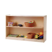 Constructive Playthings Two Level Standard Shelving Unit w/ Casters