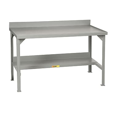Little Giant USA Welded Stationary Steel Top Workbench; 36'' H x 60'' W x 28'' D