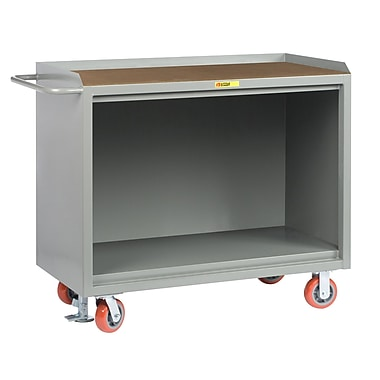 Little Giant USA Mobile 54''W Steel Top Workbench