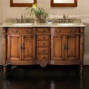 Ove Decors Belfast 60'' Double Bathroom Vanity Set