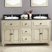 Ove Decors Birmingham 60'' Double Bathroom Vanity Set
