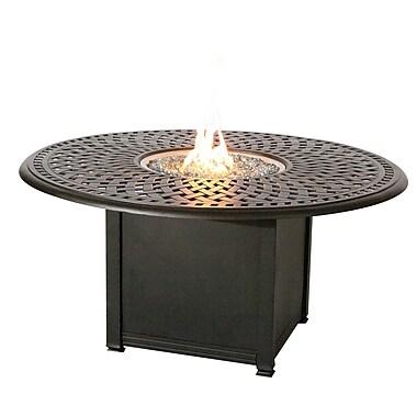 Darlee Series 60 Fire Pit Table; Mocha