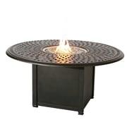 Darlee Series 60 Aluminum Propane Fire Pit Table ; Antique Bronze