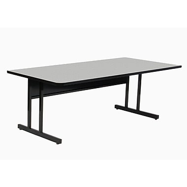 Correll, Inc. Height Adjustable Training Table w/ Modesty Panel; 30'' H x 72'' W x 29'' D