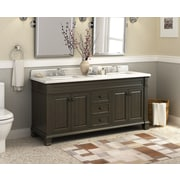 Lanza Kingsley 72'' Double Bathroom Vanity Set