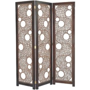 Jeffan 69'' x 59'' Cascade 3 Panel Room Divider