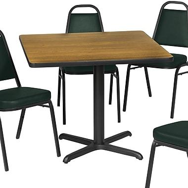 Premier Hospitality Furniture Dining Table; Graphite Nebula