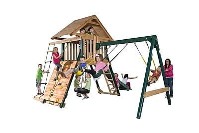 Backyard Play Systems Boulder Creek Swing Set