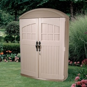 Step2 LifeScapes 4.17 ft. W x 2 ft. D Plastic Vertical Tool Shed