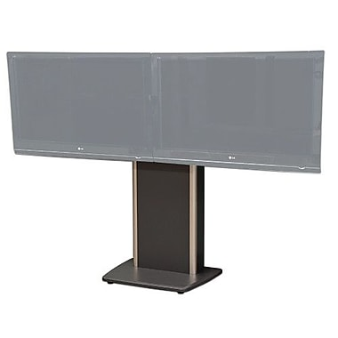 VFI Fixed Base Telepresence Stand for 32'' - 70'' Diplays; Auburn Pear