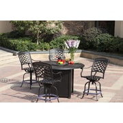 Darlee Series 60 Fire Pit Table; Antique Bronze