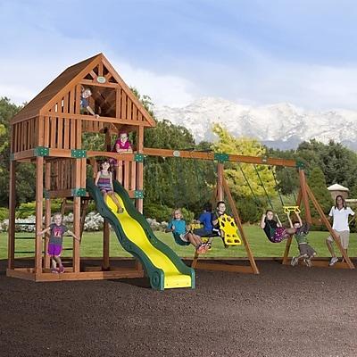 Backyard Discovery Quest Cedar All Cedar Swingset;