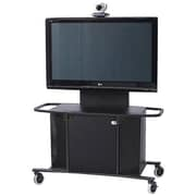 VFI Mobile AV Cart w/ Single XL Monitor Mount