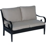 Meadow Decor Roma Loveseat w/ Cushions; B Grade