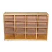 Bird in Hand 12 Compartment Cubby w/ Casters