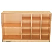 Childcraft Durable 14 Compartment Cubby w/ Casters