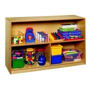 Childcraft 3 Compartment Shelving Unit w/ Casters
