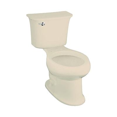 Sterling by Kohler Stinson 1.28 GPF Elongated 2 Piece Toilet; Almond