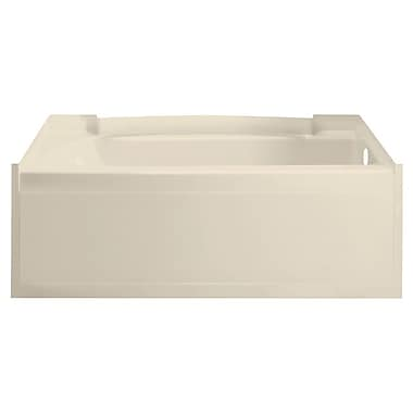 Sterling by Kohler Accord 60'' x 32'' Soaking Bathtub; High Gloss Almond