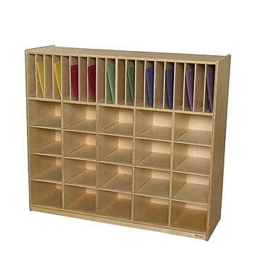 Wood Designs Multi-Storage 40 Compartment Cubby