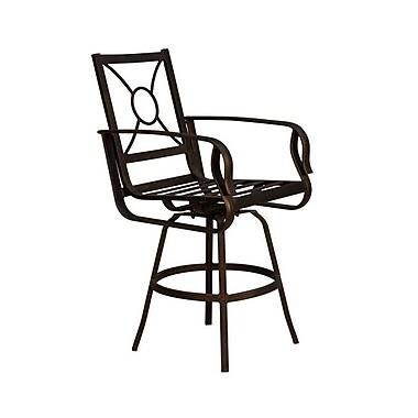 California Outdoor Designs Westport Bar Stool w/ Cushion