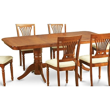 East West Napoleon 5 Piece Dining Set; Upholstered