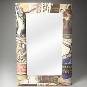 Butler Artifacts Olympus Upholstered Wall Mirror