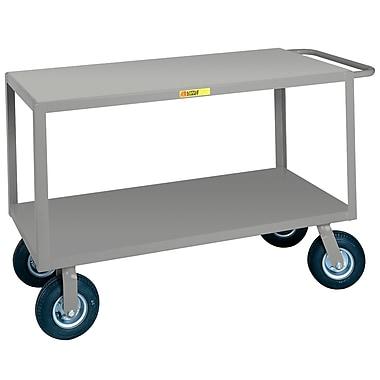Little Giant USA 30'' x 53.5'' Flush Handle Steel Utility Cart