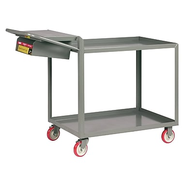 Little Giant USA 18'' x 48'' Utility Cart w/ Writing Shelf and Storage Pocket