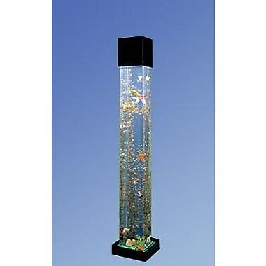 Midwest Tropical Fountain Aqua 20 Gallon Tower quare Aquarium Kit