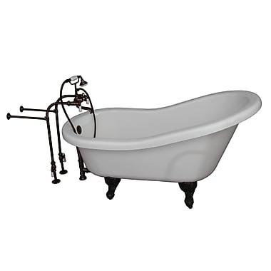 Barclay 60'' x 29.25'' Soaking Bathtub Kit; Oil Rubbed Bronze