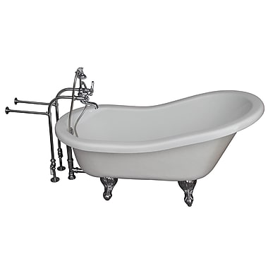 Barclay Tub Kit 24.5'' x 60'' Bathtub; Chrome