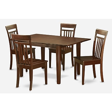 Wooden Importers Picasso 5 Piece Dining Set; Non-Upholstered Wood