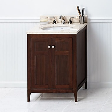 Ronbow Briella 24'' Bathroom Vanity Cabinet Base in American Walnut