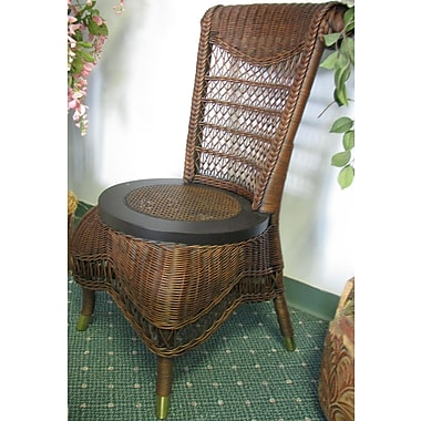 Spice Islands Classic Side Chair; Brownwash