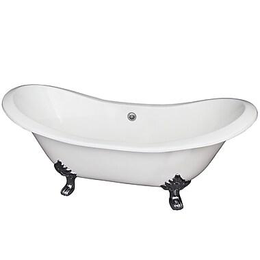 Barclay Marshall 71'' x 30'' Soaking Bathtub; Polished Chrome