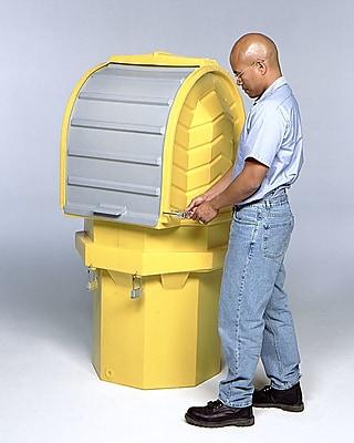 Hard Top and 1 Drum Model 55 Gallon Hazardous Material Receptacle (Set of 2)