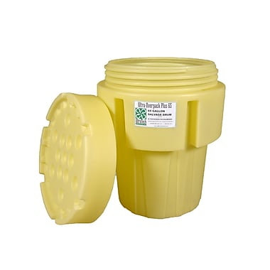 UltraTech International Inc Overpack Plus Model 96 Gallon Hazardous Material Receptacle; 65